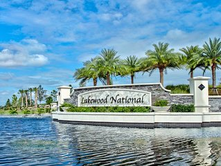New 3 Bedroom Lakewood National Condo With Golf Course Views: Lakewood National
