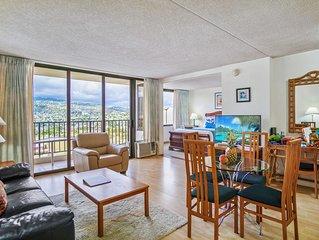 Darmic Waikiki Banyan: Superior - Mountain View  |  25th floor  |  1 bdrm  | FRE