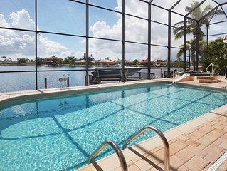 15% OFF! SWFL Rentals - Villa Claire - 2 Story Gulf Access Pool Home Sleeps 6