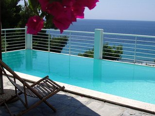 Luxurious House with private swimming pool in Poseidi