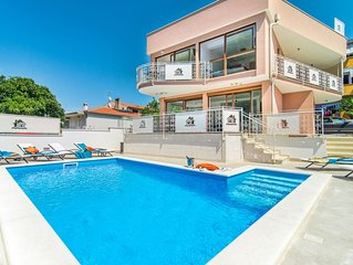Brand New 3 Bedroom Villa with Private Pool, only 200 m from the Beach !