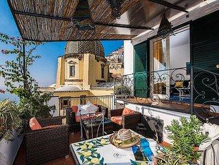Villa Cipriana: Una caratteristica casa indipendente su di un piano con vista su