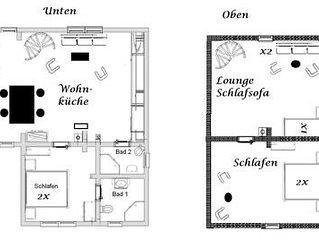 Ferienhaus Bodstedt fur 5 - 7 Personen mit 3 Schlafzimmern - Ferienhaus