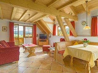 Ferienwohnung Nr.3, Typ C, 85qm, 3 Schlafzimmer, max. 6 Personen