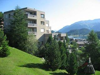 Ferienwohnung St. Moritz fur 2 - 4 Personen mit 1 Schlafzimmer - Ferienwohnung