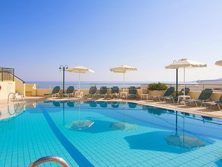 Ferienhausanlage mit Pool, nahe zum Meer, Wifi   Sfakaki, Kreta