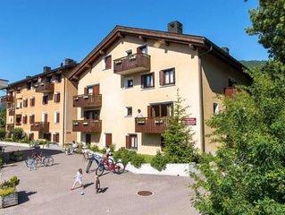 Ferienwohnung Celerina für 4 - 6 Personen mit 2 Schlafzimmern - Ferienwohnung in