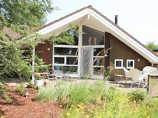 Pettersson - skandinavisches Ferienhaus mit  Sauna, Garten und Terrasse, Kamin-