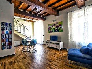 Ferienwohnung Viterbo für 2 - 4 Personen mit 1 Schlafzimmer - Historisches Gebäu