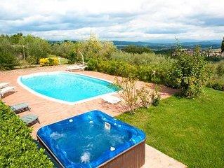 Ferienhaus Monte San Savino für 6 - 9 Personen mit 3 Schlafzimmern - Ferienhaus