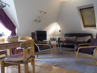 LuM23 - Komfortable und gemütliche Ferienwohnung für 4 Personen mit 2 Balkonen