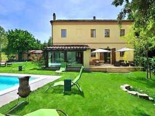 Ferienhaus Montemaggiore al Metauro fur 8 Personen mit 4 Schlafzimmern - Ferienh