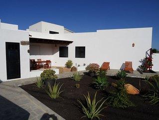 Rustikal, modernes Ferienhaus in La Vegueta