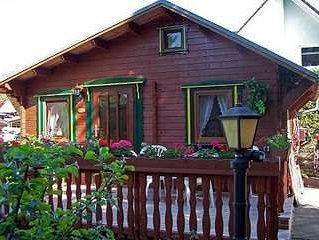 Ferienhaus Waldesruh für 1 - 2 Personen - Ferienhaus, casa vacanza a Schonefeld