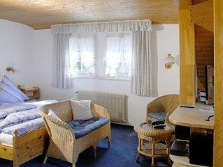 Ferienwohnung 3, 28qm, 1 Wohn-/Schlafzimmer, max. 2 Personen