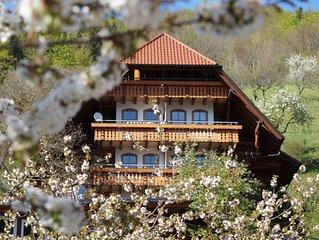 Ehrenmättlehof: Ferienwohnung E01, 85qm, 2 Schlafzimmer, max. 6 Personen