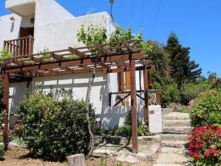 Entspannung in ruhiger Idylle mit Blick aufs Meer - Ferienhaus Kalo Chorio, Kret