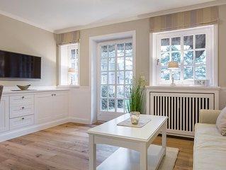 traumhafte 2-Zimmer-Erdgeschosswohnung mit ca. 45 qm für maximal 3 Personen