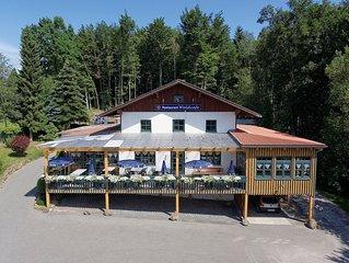 Ferienwohnung Hagbügerl Bayerischer Wald Erlebnisbad und Internet bis 2-12Pers