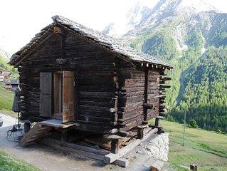 Ferienhaus La Forclaz VS für 1 - 2 Personen - Ferienhaus