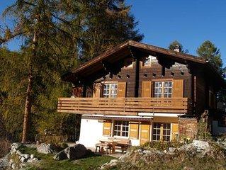 Ferienhaus Grächen für 3 - 9 Personen mit 4 Schlafzimmern - Ferienhaus