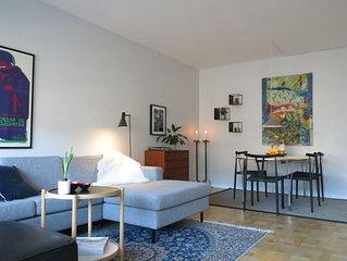 City Apartment in Frederiksberg Kommune mit 1 Schlafzimmern 2 Schlafplatzen