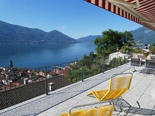 Ferienwohnung Ascona für 4 - 5 Personen mit 2 Schlafzimmern - Ferienwohnung