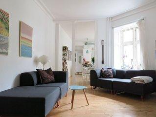 City Apartment in Kopenhagen mit 3 Schlafzimmern 4 Schlafplatzen