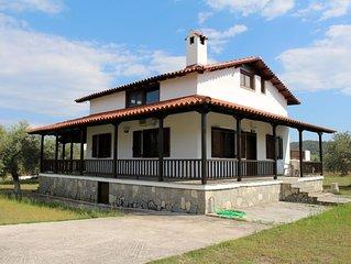 Freistehendes Ferienhaus im Grunen, nahe zum Strand, Ormos Panaghias, Chalkidiki