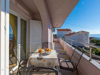 Ferienwohnung Crikvenica fur 4 - 6 Personen mit 2 Schlafzimmern - Ferienwohnung