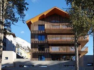 Ferienwohnung Pontresina fur 4 - 6 Personen mit 3 Schlafzimmern - Ferienwohnung