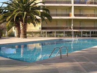 Appartement T2 - 4 personnes - Piscine résidence - Centre ville - Sainte Maxime