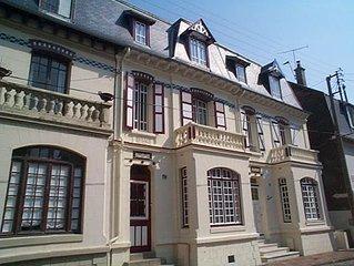 Villa typiquement touquettoise en plein centre ville