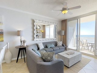Enjoy the ULTIMATE Gulf Views from the 11th Floor Balcony!