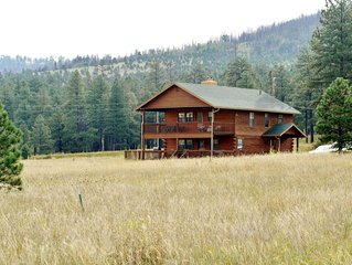 Beautiful 2-Story cabin in the meadow