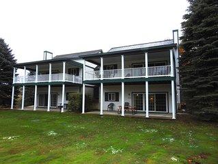 CHIEF GOLF COURSE CONDO in Bellaire close to Torch Lake - Upper Unit
