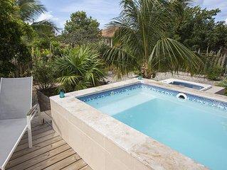 Villa Mistralea, a nice villa in Belnem with rinse tanks and small private pool