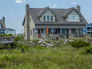 DAVIS 3A: 2BR/2.5BA sleeps 6 oceanfront townhome, Serenity Point, Topsail Beach