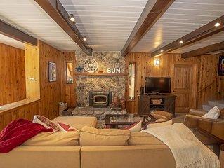 Edelweiss Escape: 4 BR / 2 BA house/cabin in Tahoe City, Sleeps 10