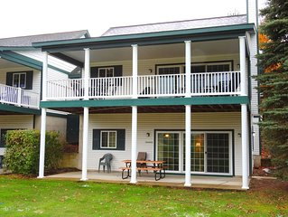 CHIEF GOLF COURSE CONDO in Bellaire close to Torch Lake - Lower Unit