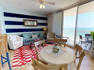 Take In The Scenery With Stellar Gulf views and all Beach Club Perks! Doral 1202