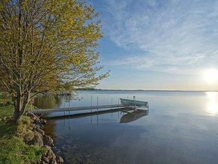 Sunset Breeze on Brevort Lake