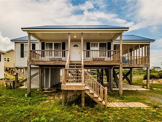 All That Jazz: 3 BR / 2 BA house in North Topsail Beach, Sleeps 6