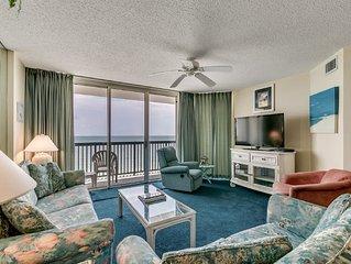 Clean 15th Floor, Oceanfront, Hot Tub, Pools, AshWorth
