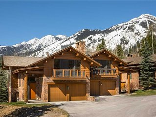 RMR: Teton Village in Granite Ridge : 3 BR townhouse Sleeps 8 + Free Fun!