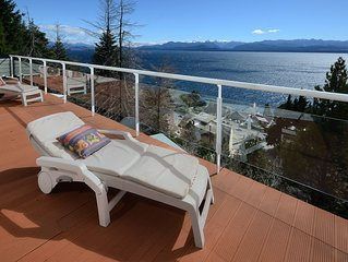 Bariloche. Wonderful 3 Bedrooms 2 Baths Apartment , Panoramic Views,  Downtown