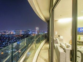 Saigon City View Apartment & 2 Luxury Pool near District 1