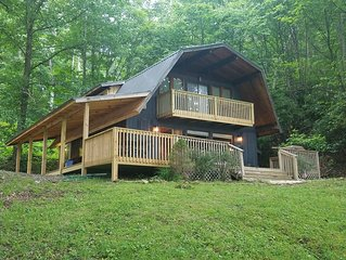 Wolf Laurel CC Golf front cabin with STUNNING VIEWS!!!!