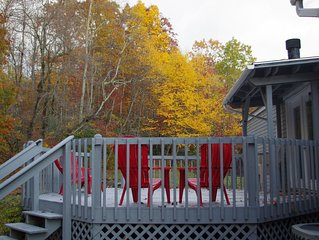 Mountain Woods Getaway - A secluded 10 acre retreat only minutes from town.