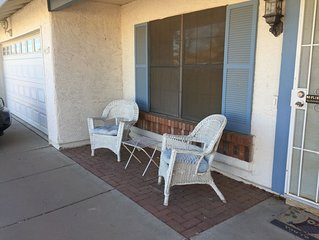 Cute house in Ahwatukee Adult Community, ask about summer special rates!